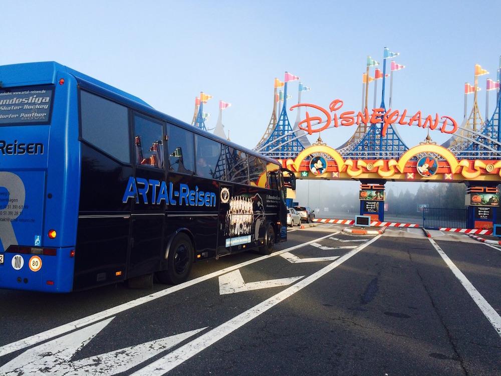 Busreisen nach Disneyland