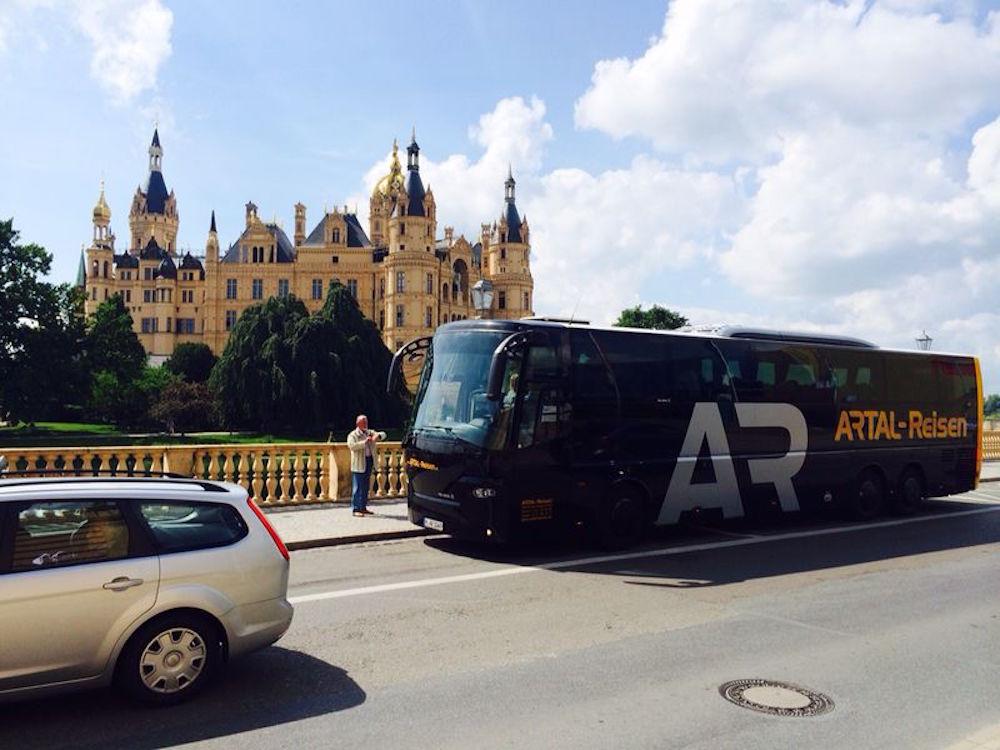 Busreisen zu Schlössern