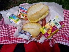 Lunchpaket für die schöne Busreise