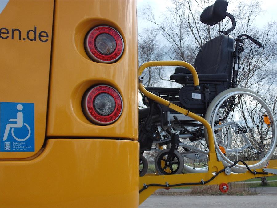 Rollstuhllift bis 400 kg